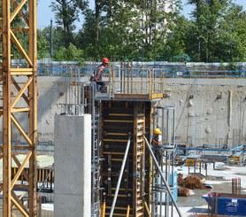 Záruka bezpečnosti při betonáži sloupů.