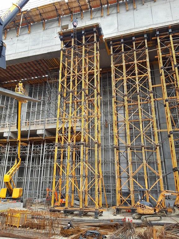 Podpůrná konstrukce MK prokazuje svou vysokou nosnost na stavbě závodu na zpracování odpadu v Pavii v Itálii