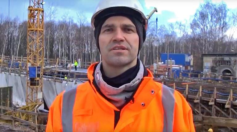 Adrian Dyraga, Manažer stavby mostů - Intercor