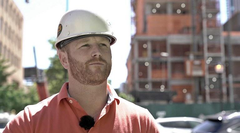David Ashe, Projektový manažer - Trident General Contracting LLC.