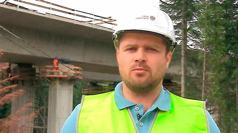 Marek Rymut, Manažer stavby mostů - Salini Impregilo