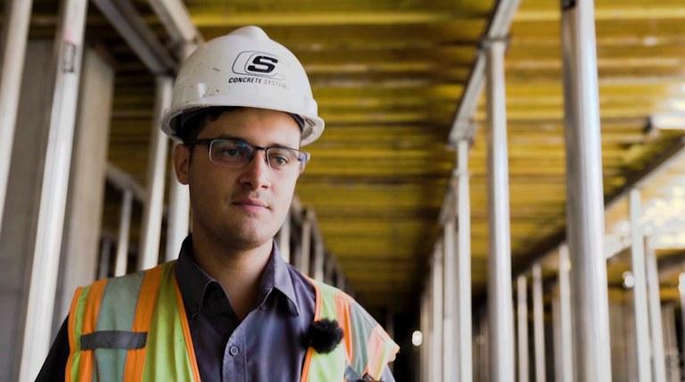 Matteus Ferreira de Souza, Asistent projektového manažera - Concrete Systems