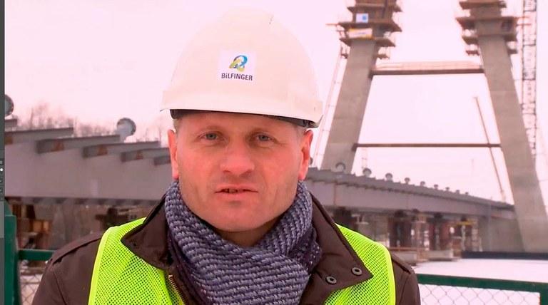 Tomasz Winiecki, Stavbyvedoucí - Bilfinger Infraestructure